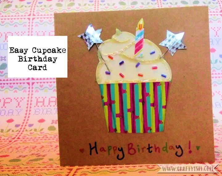 How to Cupcake Birthday Card Intro