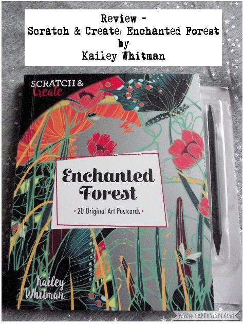 Review - Scratch & Create: Enchanted Forest Title