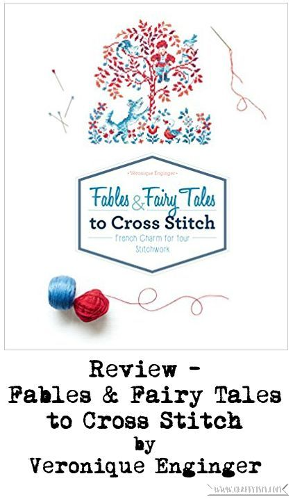 Review - Fables & Fairy Tales to Cross Stitch by Veronique Enginger | Cover