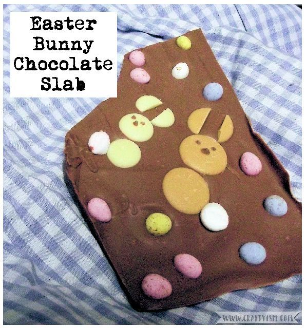 How to - Easter Bunny Chocolate Slab | Title