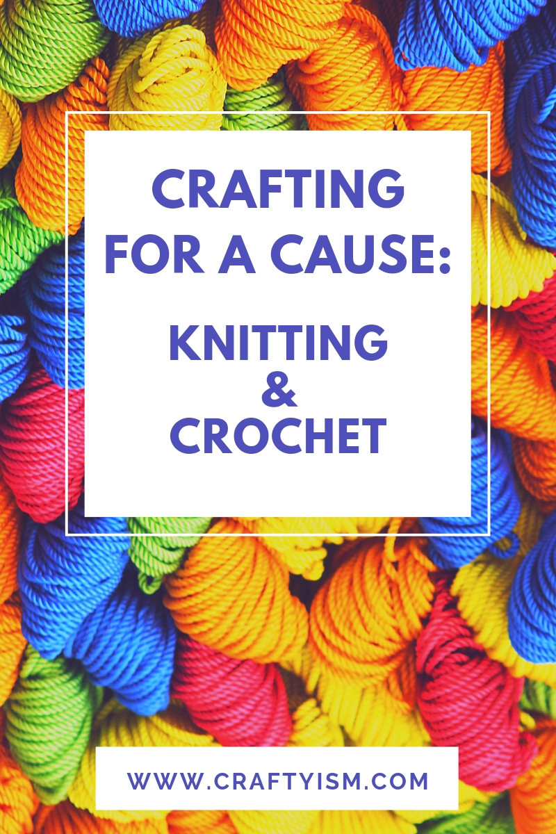 Craftyism - Charity Crafting: Knitting & Crochet | Title